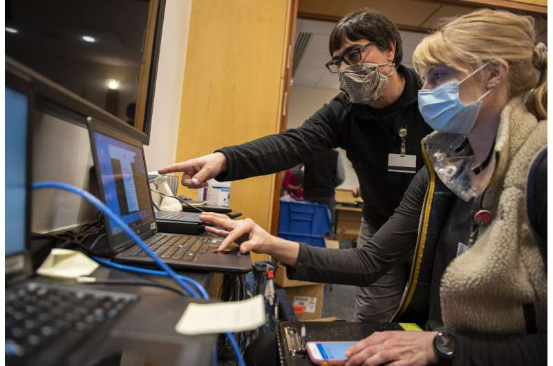 As hospitals cope with a COVID-19 surge, cyber threats loom