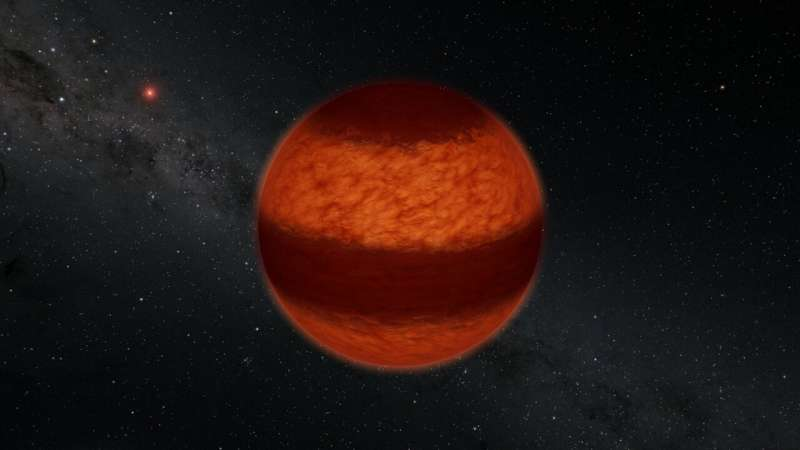 Astronomers find Jupiter-like cloud bands on closest brown dwarf