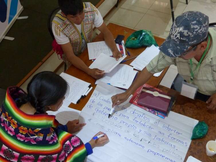 Bolivia: contribution of indigenous people to fighting climate change is hanging by a thread