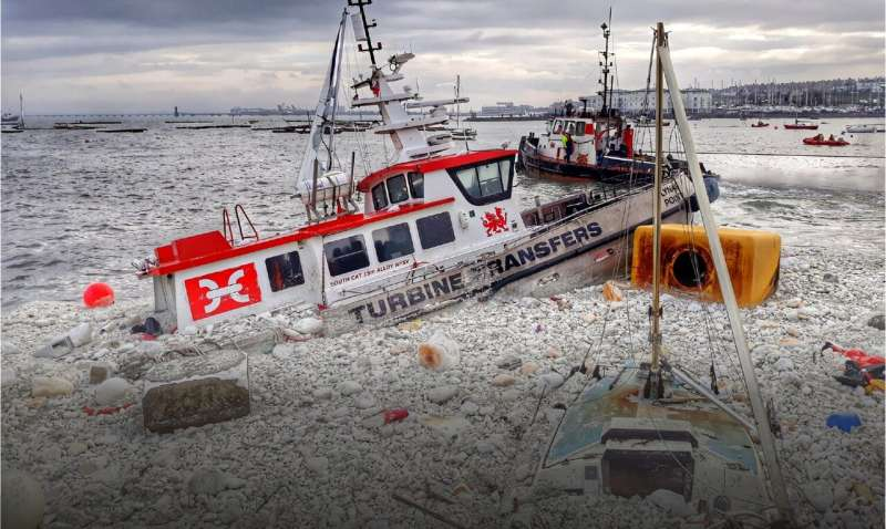 Breaking down ocean polystyrene—pollution on a global scale