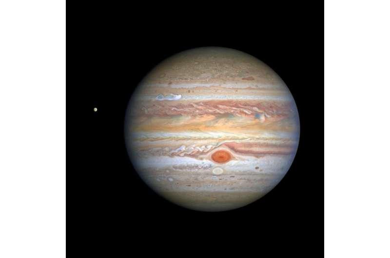 Hubble captures crisp new portrait of Jupiter's storms
