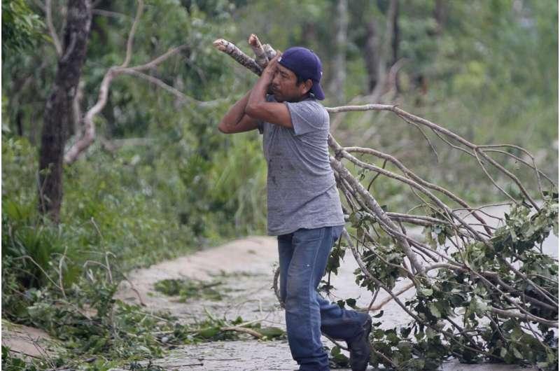 Hurricane Zeta speeds toward a storm-weary Louisiana