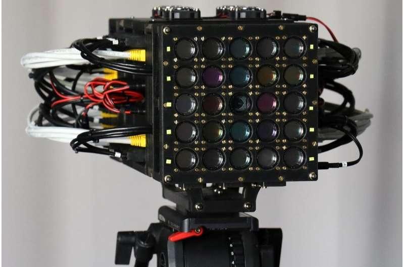 Intelligent cameras enhance human perception