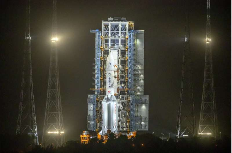 Lunar mission is latest milestone in China's space ambitions