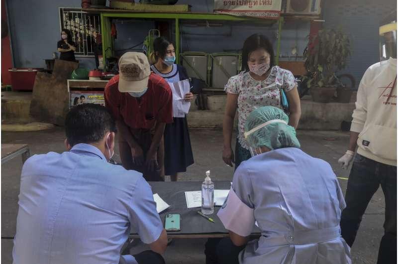 Migrant worker cases drive Thai coronavirus total past 5,000