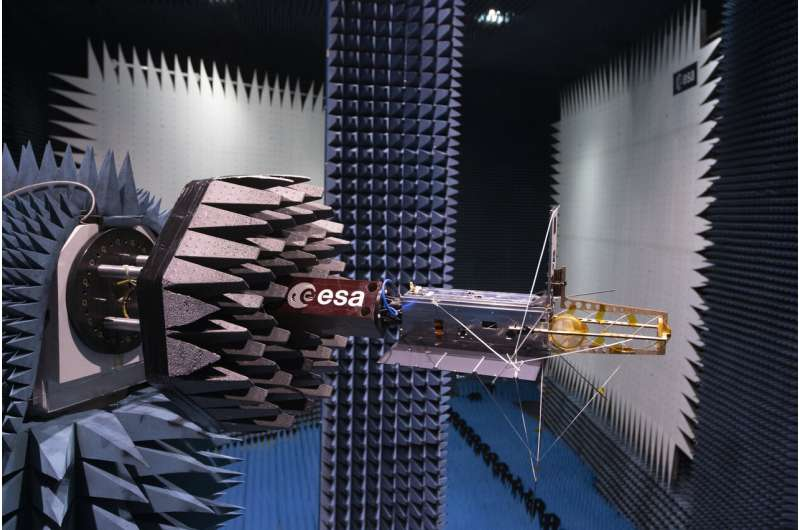 Nanosatellite with global mission tested for space