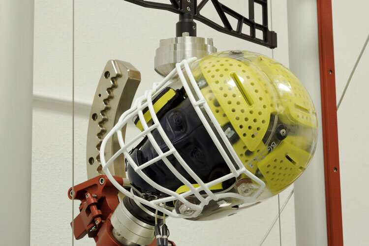 New helmet design can deal with sports' twists and turns