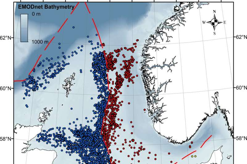 New study confirms extensive gas leaks in the North Sea
