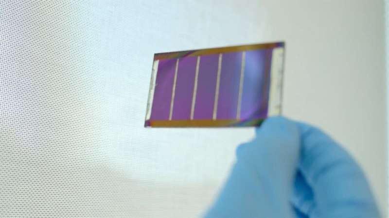 Perovskite solar cells developed by NTU Singapore scientists record highest power conversion