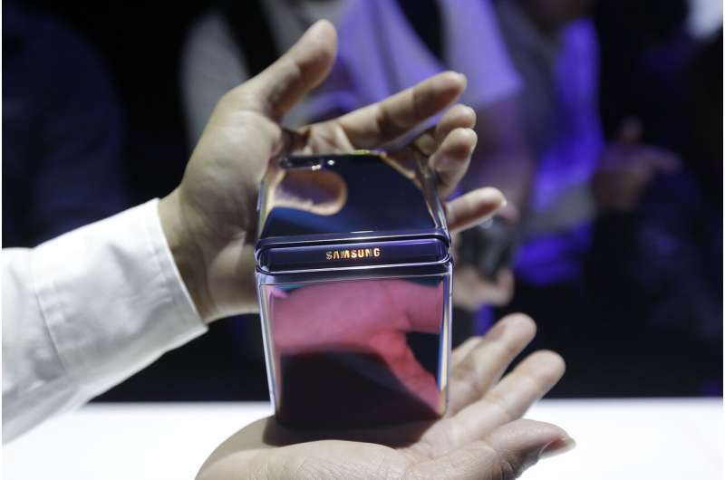 Samsung's new foldable phone: Cheaper, but still a novelty