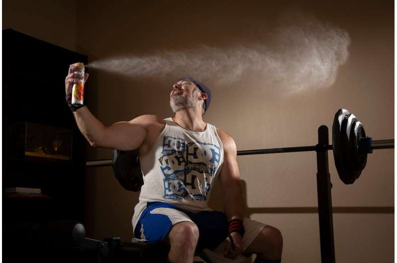 Sniffing your way to the gym