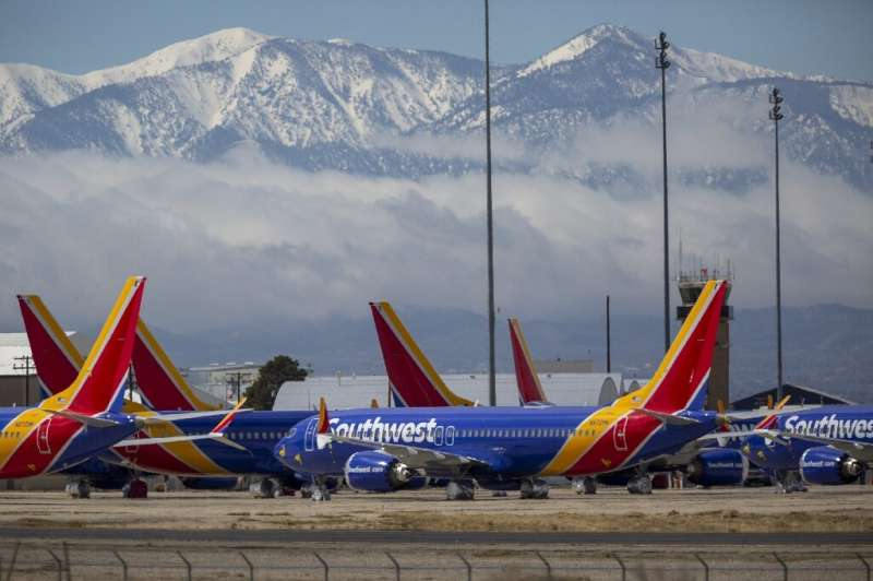 Southwest Airlines only submitted its request for the stimulus money at the last minute