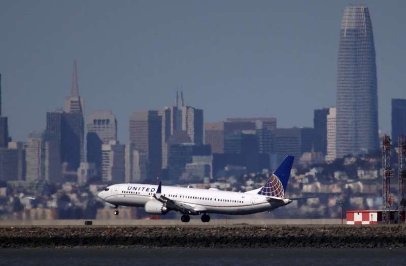 United Airlines won't restart flights using the Boeing 737 MAX, pictured here, until at least September 2020