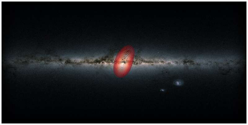 """Astronomers discover new """"fossil galaxy"""" buried deep within the Milky Way"""