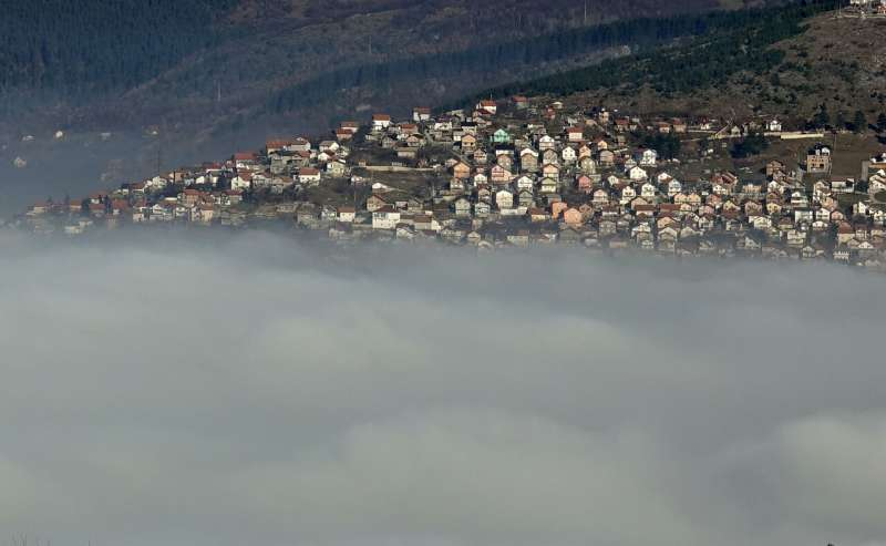 Air pollution in eastern Europe adds to pandemic health woes