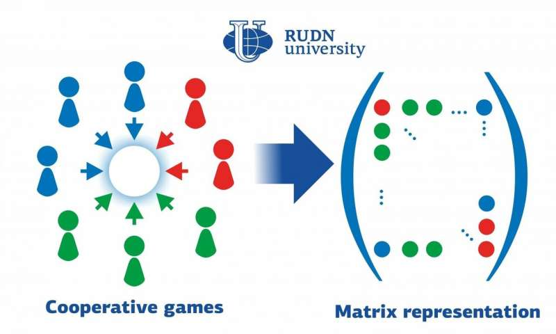RUDN University mathematician suggested new approach to cooperative game