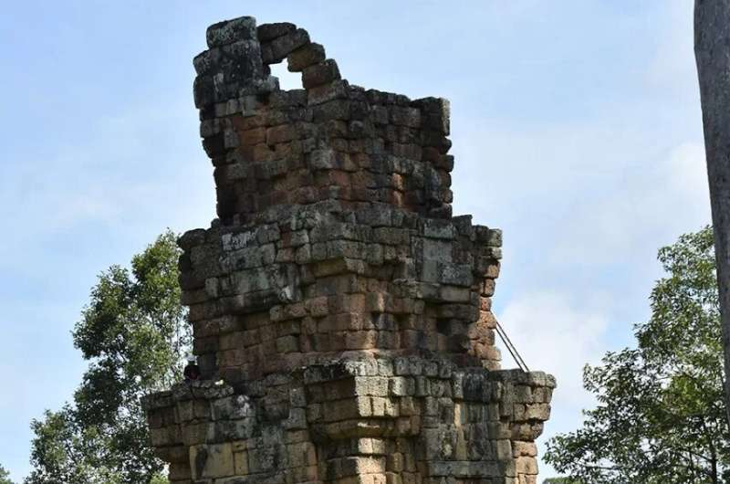 Climate change and the collapse of Angkor Wat