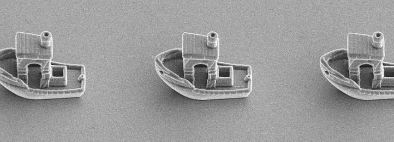 3-D printed microboat