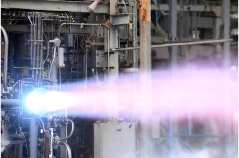 3-D-printed thrust chamber passes first tests for vega evolutions