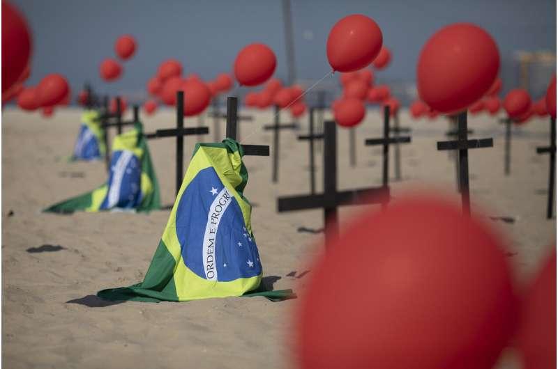 Brazil makes grim milestone -- 100,000 deaths from COVID-19