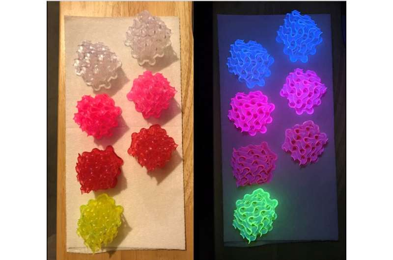 Chemists create the brightest-ever fluorescent materials
