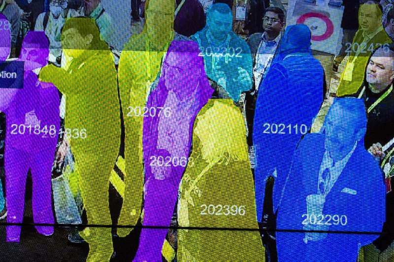 Facial recognition technology can now identify people in crowds, raising privacy concerns if it is widely integrated into survei