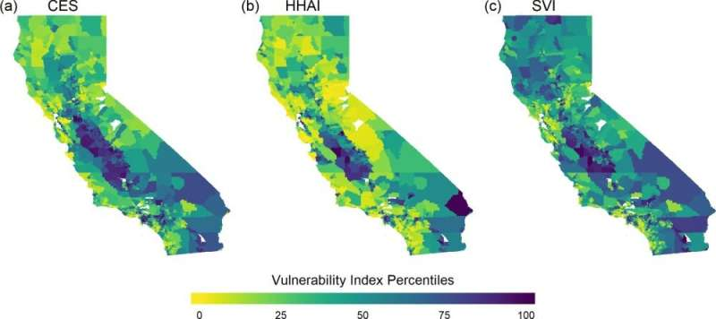 Identifying communities at risk for impacts of extreme heat