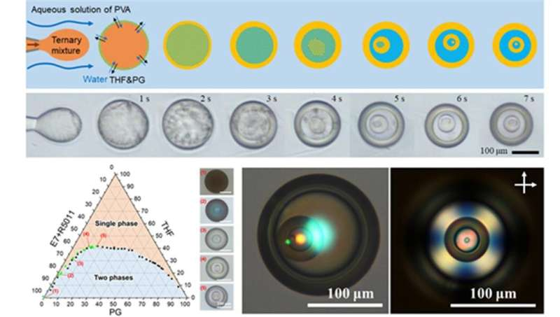 Liquid crystals that can replace color shifting ink in preventing counterfeiting