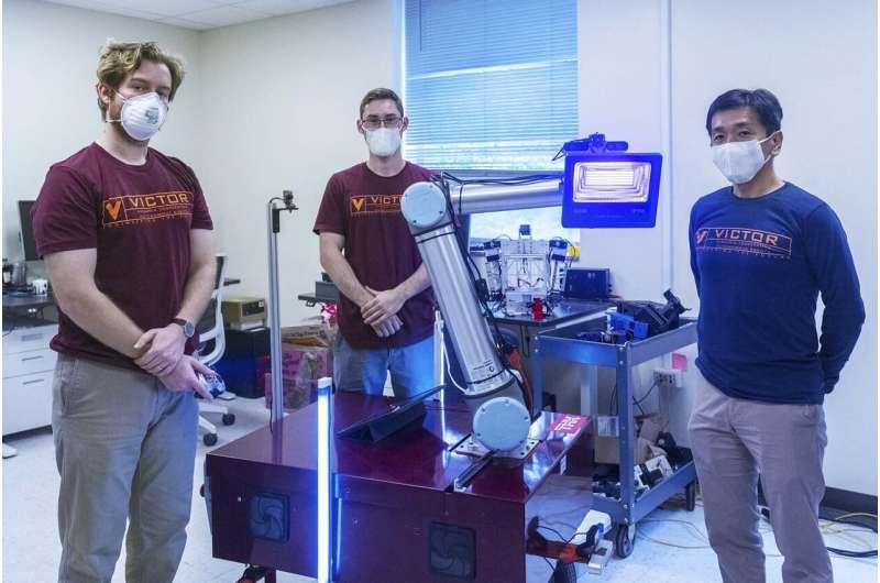 Mechanical engineers develop coronavirus decontamination robot