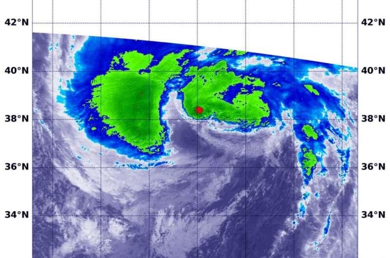 NASA sees Hurricane Teddy threaten Eastern Canada