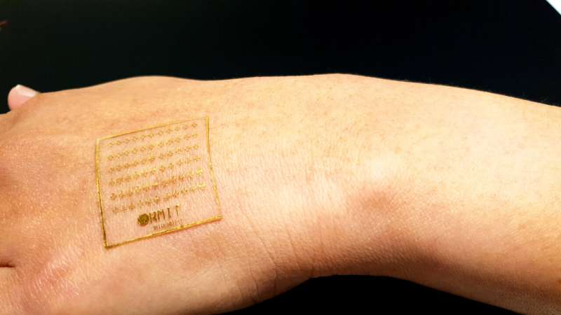 New electronic skin can react to pain like human skin