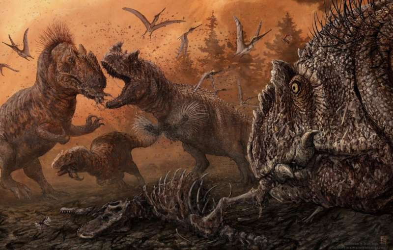 New study finds cannibalism in predatory dinosaurs