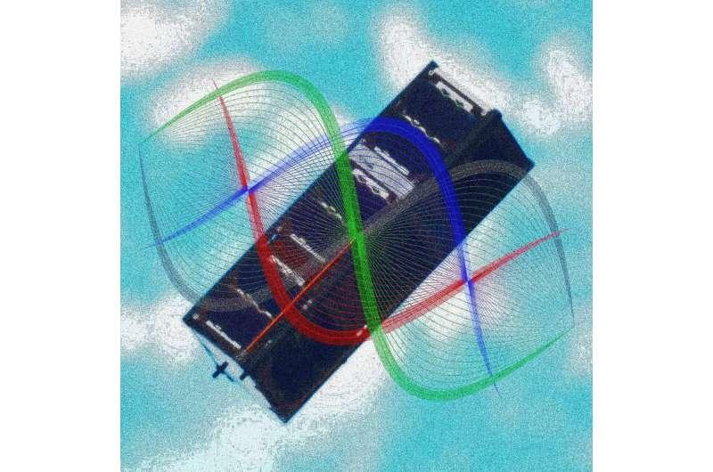 Quantum entanglement demonstrated aboard orbiting CubeSat