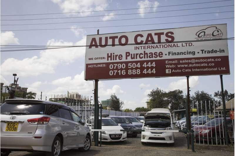 Used cars keep Africans moving, but dumping concerns remain
