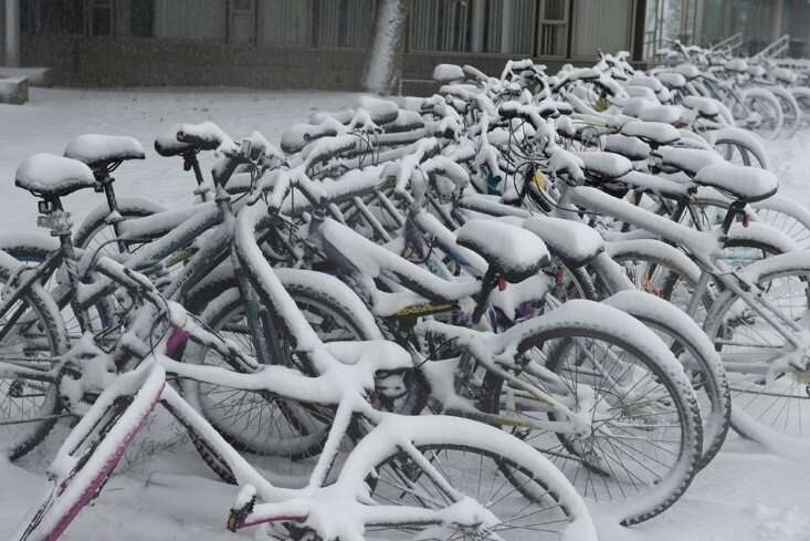 Climate change could dramatically reduce U.S. snowstorms