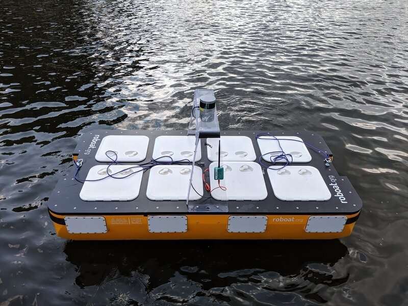 Researchers improve autonomous boat design