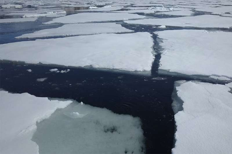 Antarctic sea ice may not cap carbon emissions as much as previously thought