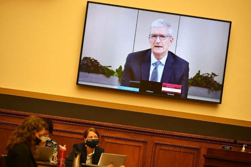 Apple CEO Tim Cook was among the executives testifying last month at congressional antitrust hearing on Big Tech dominance