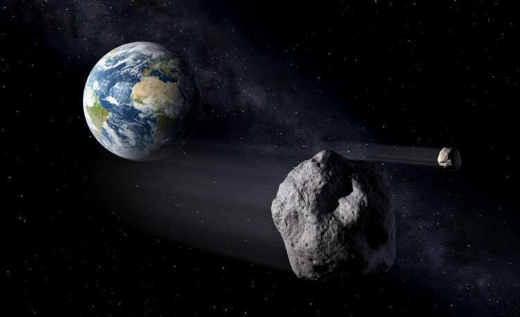 Astronomers discover potential near earth objects