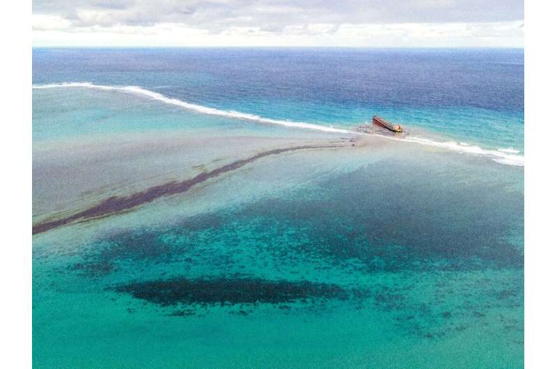 More than 1,000 tonnes has already oozed from the stranded ship, causing untold damage to protected marine parks and fishing gro