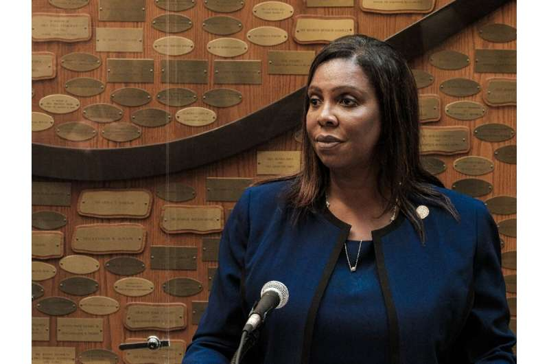 New York State Attorney General Letitia James heads a coalition of states suing Facebook over antitrust violations and seeking t