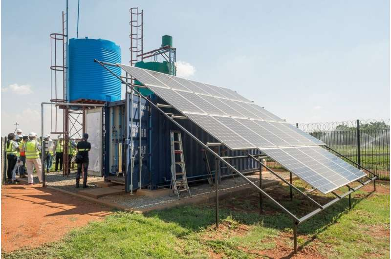 Sustainable solutions with South Africa in the fight against water scarcity