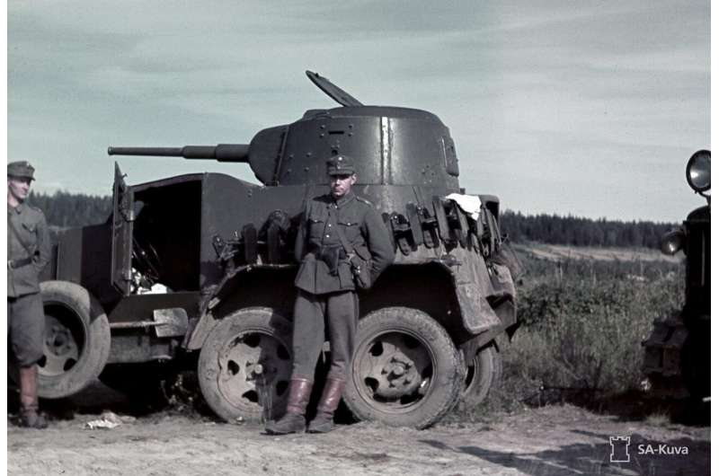 Artificial intelligence dives into thousands of WW2 photographs