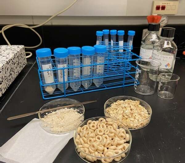 Researchers advance efforts to accurately measure glyphosate pesticide in oats