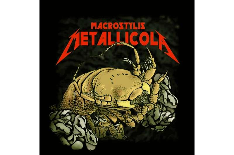 Deep-Sea Critter Named after Metallica