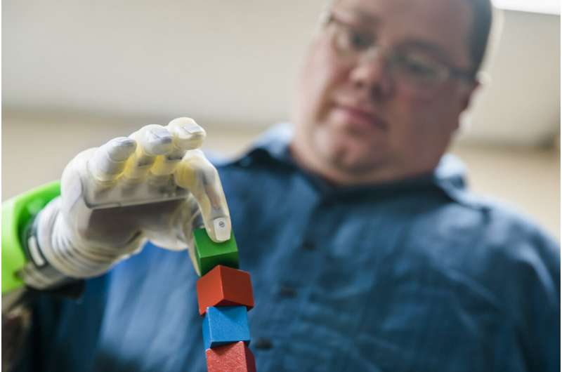 'It's like you have a hand again': An ultra-precise mind-controlled prosthetic