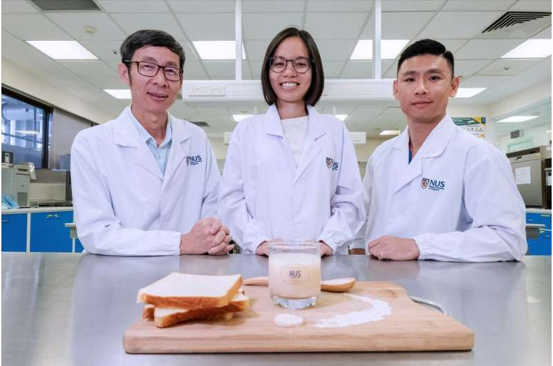 NUS food scientists 'upcycle' unsold bread into tasty probiotic drink and cuts food waste