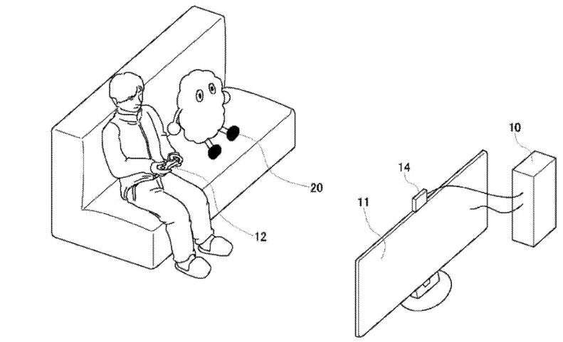 Sony eyeing robot friend for game players