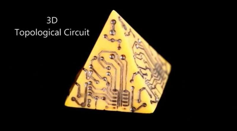 Engineers develop simpler, faster way to build complex and better-performing 3-D electronics