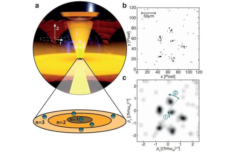 Team in Germany observes Pauli Crystals for the first time